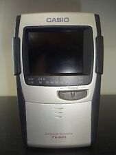 Vintage Casio LCD Color Handheld Portable Television TV-880 TV-880B Antenna