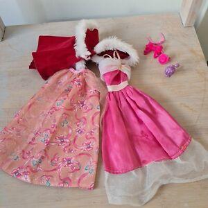 Barbie Doll Clothes Dresses. V.G.C preloved.