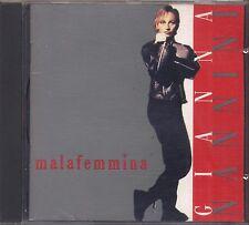 GIANNA NANNINI - Malafemmena - CD 1988 USATO OTTIME CONDIZIONI NO BARCODE