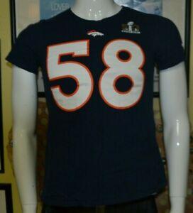 Denver Broncos Von Miller Super Bowl 50 Jersey T Shirt Youth Medium Nike Nice