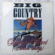 """Big Country - Broken Heart (Thirteen Valleys) - 12"""" Single - BIGC612 - 1988"""