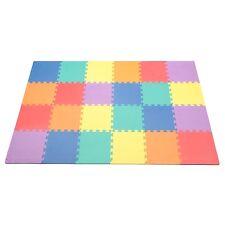 "Kids Foam Floor Play Mat Puzzle 24pcs 12"" Tile Toddler Baby Playmat Room Floring"
