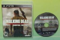 The Walking Dead Survival Instinct  - Sony PlayStation 3 PS3  Game Works Tested