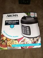 Aroma ARC-1030SB 20-Cup Digital Cool Touch Multi Cooker Rice, Steamer, & Slow