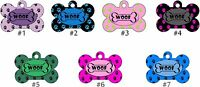 CUSTOM ENGRAVED PERSONALIZED PET TAG ID DOG Unique Tag Deep Engraving Colorful