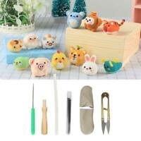 Wool Felt Needles Tool Set Needle Felting Mat Starter DIY Kit Gift Accessories