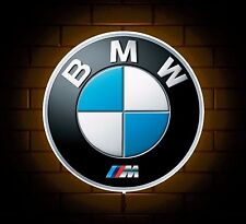 BMW M BADGE SIGN LED LIGHT BOX MAN CAVE GARAGE WORKSHOP GAMES ROOM BOY GIFT M3