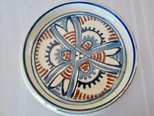 """Vntg """"HAK"""" Herman Kahler Keramik 549C DENMARK Round Flat Dish 7½""""x1½"""" Hand Decor"""