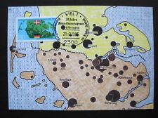 Bund,BRD Maximumkarte MiNr. 1241 Ersttag Kiel gestempelt (B 302)