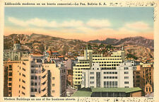 Postcard Edificacion Moderna En Un Barrio Commercial LA Paz Bolivia S.A.