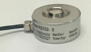 Pancake Load cell 5t capacity - One year Warranty