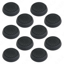 10x Black Thumb Stick Grips Analog Silicone Cap Covers PS4 PS3 Xbox One Wii U