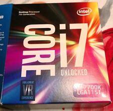 Intel i7- 7700K  -  4,2 Ghz  -  8 MB Cache  -  LGA1151