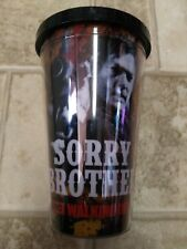 Walking Dead Sorry Brother Daryl 18 oz. Carnival Cup Travel Drinking Mug Tumbler