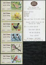 WINCOR TYPE II BIRDS 2 II 6x1st CL GAP ERROR (STRIP/5+1) SG FS11v x6 POST & GO