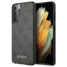 Guess Breloques Collection 4g Samsung Galaxy S21 5g Étui - Gris