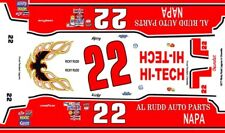 #22 Ricky Rudd 1977 Chevy 1/64th HO Scale Slot Car Decals