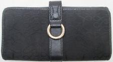 -AUTHENTIQUE portefeuille/porte-monnaie LANCEL Paris toile/cuir  TBEG vintage