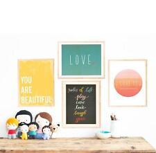 Modern Nursery Decor, Motivational Art, Wall Art Print, Rules of Life Collection