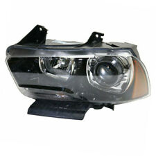 11-14 Charger Front Headlight Headlamp Xenon Head Light Lamp w/Bulb Driver Side
