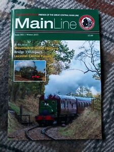MainLine Magazine for Friends of the GCR. Winter 2013 Issue 165. Excellent cond.