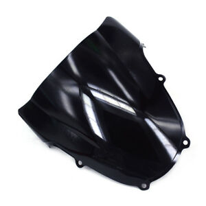 NEW ABS Windshield Windscreen Screen For GSXR GSXR1000 GSXR600 GSXR750 K1 Black