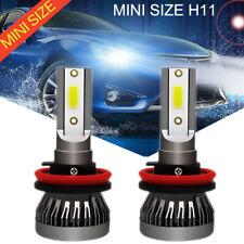 110W MINI H8 H9 H11 LED Auto Scheinwerferlampe Licht 30000LM 6000K Weiß Canbus
