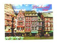 Bernkastel Kues Mosel 3 D Holz Souvenir Deluxe Magnet,Germany Deutschland,Neu