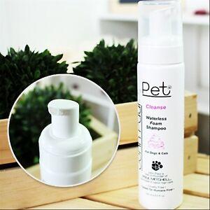Luxury Pet Spa- Waterless Foam Shampoo for Dogs/Cats John Paul Pet