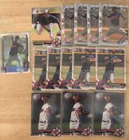 (x63) Triston McKenzie LOT (1st Bowman) CHROME (RC) Cleveland Indians Rookie