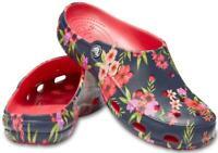 Crocs Freesail Printed Womens Clog-Floral Black Tropical Poppy 205861 NEW $79.95