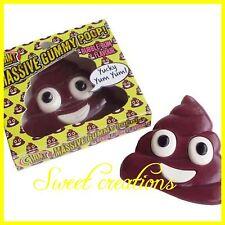 Giant Candy Gummy Poop Emoji bubblegum Flavour 800g SWEET CREATIONS