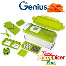 Genius - Nicer Dicer Plus Set 10tlg kiwi