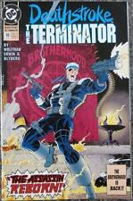 DEATHSTROKE, THE TERMINATOR  #18  {1993}   DC COMICS