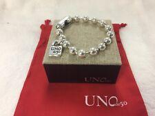 UNOde50 Silver Plated Bracelet - Silver
