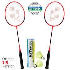 Yonex B4000 Badminton Combo Set (2 Rackets + 1 Tube of Shuttlecocks)