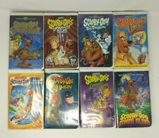 Scooby Doo and the Gang 8 tape VHS Lot Videos FREE SHIP