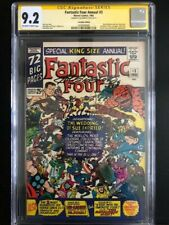 Fantastic Four Annual 3 CGC 9.2 SS 1st Patsy (S.A)  Canadian Variant +1 raw copy