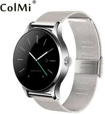 Bluetooth Smart Watch Classic Health monitor cardiaco in metallo SMARTWATCH ANDROID IOS
