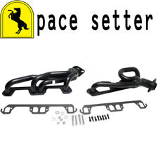 Pace Setter 70-1315 Painted Shorty Header 1996-2003 Ram 1996 Dakota 5.2L 5.9L V8