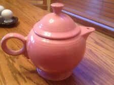 Fiesta® Teapot Rose  (Retired) Color 44 oz. with Lid. Post 86