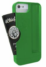 iChief iPhone 5/5s Case for Rolling Papers with Built in Rolling Tray - Green