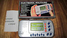 VEGAS SOLITAIRE ELECTRONIC HAND HELD COMPLETE WITH BOX & INSTRUCTIONS