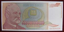 Yugoslavia Jugoslavia 500 000 000 000 Dinari 1993 P.137 Fds Unc #B72