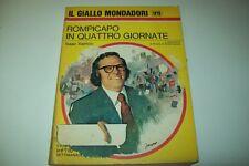 IL GIALLO MONDADORI 1479 ISAAC ASIMOV ROMPICAPO IN QUATTRO GIORNATE 1977 BELLO !