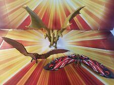 Jakks Godzilla K of The Monsters Battle Pack Mothra King Ghidorah Rodan figures