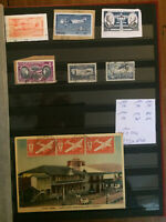Timbres collections Poste Aérienne.