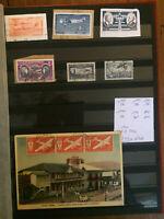 Timbres collections Poste Aérienne Courrier Bandes Martinique Mauritanie Malte M