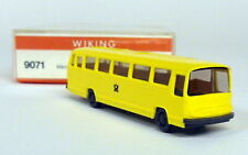 Wiking 1/160 N Scale - 9071 Mercedes Benz O 302 Post Model bus