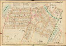 1888 MONROE COUNTY NEW YORK ROCHESTER #13 & #24 SCHOOLS COPY PLAT ATLAS MAP